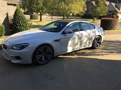 2014 BMW M6 Gran Coupe 2014 BMW M6 Gran Coupe Alpine White Lowest Price on Earth...serviced