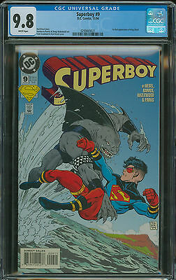 Superboy #9 CGC 9.8 1st appearance of King Shark