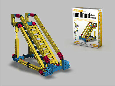 Engino Mechanical Science Inclined Planes & Wedges Engineering Building Toy STEM