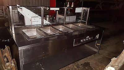 Wells Electric 5 Well Pan Steam Table Hot Food Buffet 208-240 Volt Model 500TDM