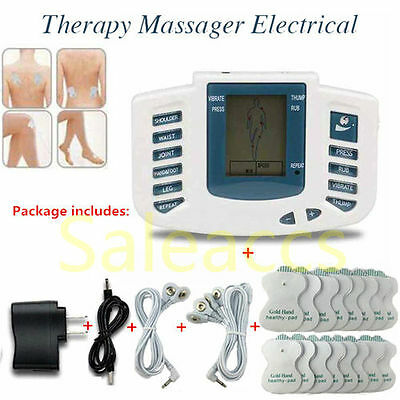 Electrical Therapy Muscle Relax Massager Slimming Machine Pulse tens Acupuncture