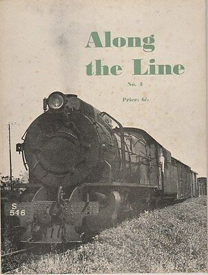1965 ALONG THE LINE No. 3 AUSTRALIAN STEAM TRAINS Great illustrations
