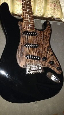Stratocaster Style Custom Wood Pickguard**Wenge**Strat