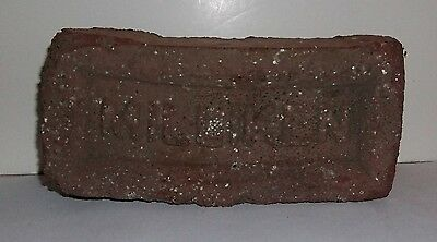 Antique Original Milliken Brick Pittsburgh PA. Historical Architectural