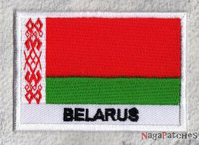 patch Embroidered badge sew-on flag badge patch BELARUS 70/45 mm