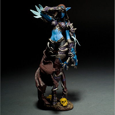 World of Warcraft WOW Lady Sylvanas Windrunner 22cm PVC Action Figur NUE BOXED