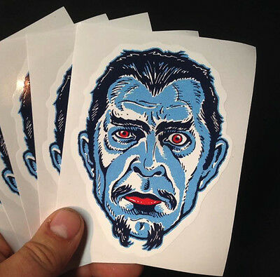 WHITE ZOMBIE - BELA LUGOSI • STICKER • Retro MANI-YACK MONSTER!!!