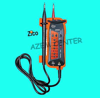 NEW Zi-1010 Automatically Electrical Tester AC/DC Voltage Meter Continuity Test