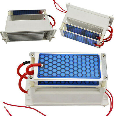 10g Ozone Generator Double Integrated Ceramic Plate Air Purifier Ozonizer DC220V