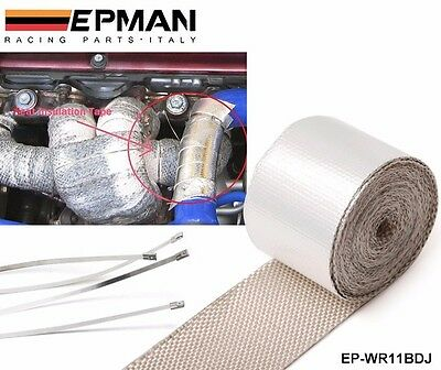 Car Reinforced Tape Heat Shield Resistant Wrap For All Intake pipe / Suction Kit
