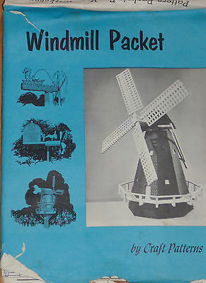 WOODWORKING - Windmill Packet - Neely Hall - 12 Patterns WINDMILLS