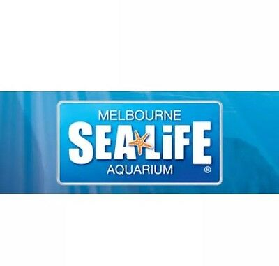 Sealife Melbourne 2 for 1 buy one free one voucher SEA LIFE