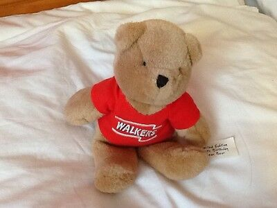 WALKERS LIMITED EDITION 50th BIRTHDAY BEAR
