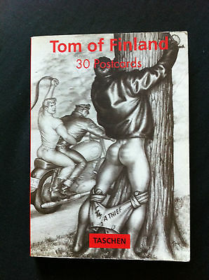 RARE! Tom of Finland 30 Postcards Gay Collectable - Very Good Condition