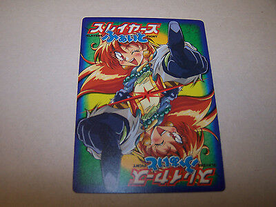 Slayers Fight!  Trading Card Game  124 reg cards + 2 prisms