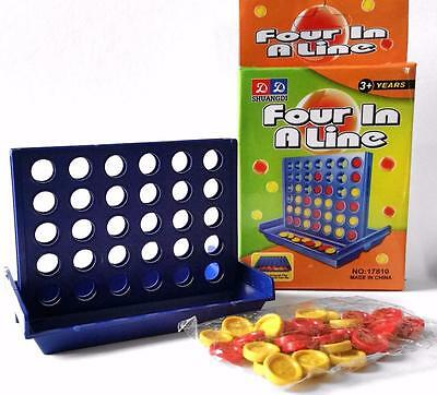 Bulk Lot x 20 MINI Four In A Line Connect Games Kids Party Favors Novelty Toys