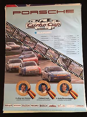 PORSCHE 944 Turbo Cup SHOWROOM VICTORY POSTER