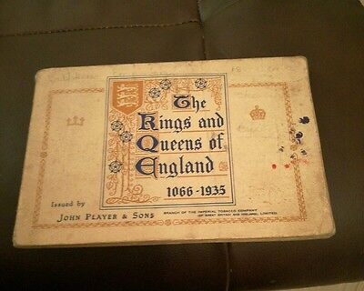 John Player Kings and Queens of England 1066-1935 full set in album