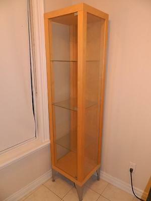 Glass Display - Used - Good Condition - Retail - Wood