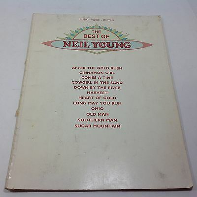 The Best of Neil Young Piano Voice and Guitar Book