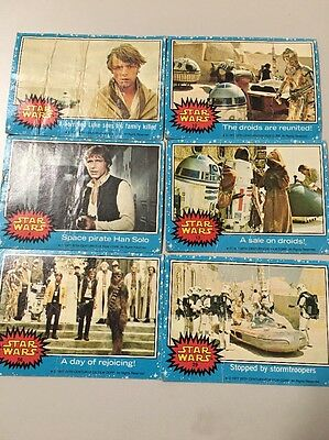 Star Wars Cards, 1977, Series 1 Blue, Topps