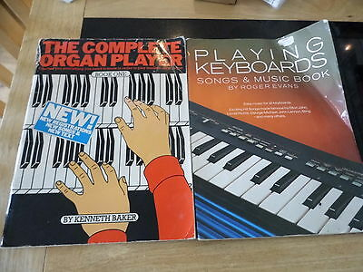 the complete organ player and keyboard playing sheet music books