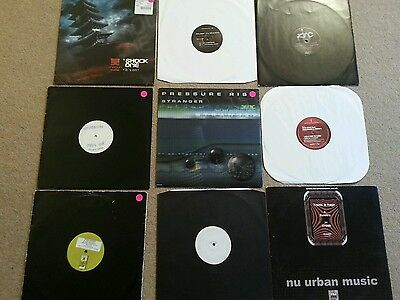 9 dnb records collection - Drum and bass