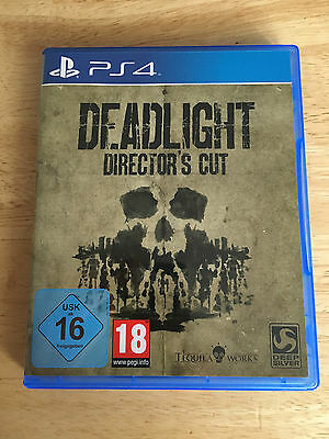 DEADLIGHT Director's Cut PS4 Spiel Game PlayStation Resident Evil Walking Dead