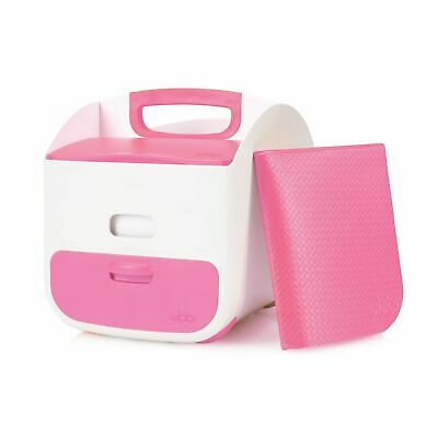 New Ubbi Diaper Nappy Caddy - Pink Colour Save !
