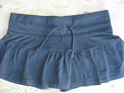 GIRLS CLOTHES KYLIE M&Co RARA SKIRT SHORTS  SKORT BLACK  AGE 13 - 14 YEARS