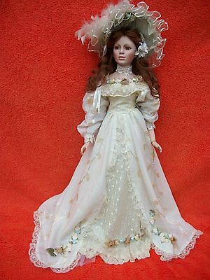"Beautiful Porcelain Doll From ""homeart"""