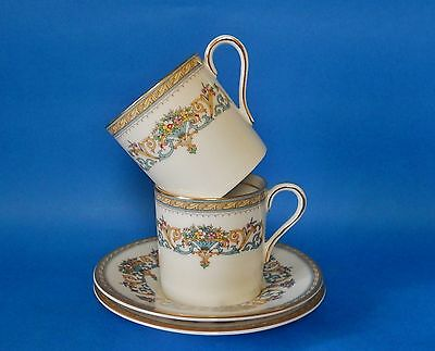 Aynsley Henley Coffee Cups & Saucers - Immaculate