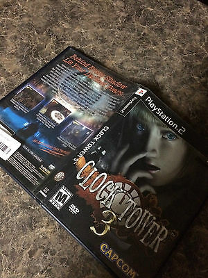 Clock Tower 3 - Playstation 2 Ps2 - Game Case Only