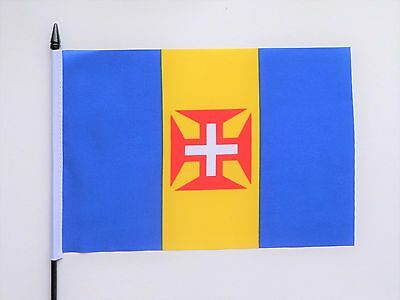 Portugal Madeira Medium Hand Waving Flag