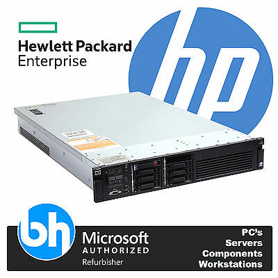 HP ProLiant 2U DL380 G6 2x Quad Core L5520 Xeon 24GB RAM P410 RAID 4x 73GB SAS