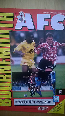 Bournemouth vs Swansea 1992/93