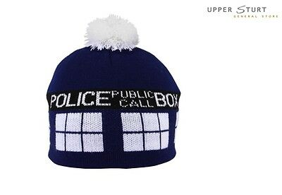 Doctor Who – Tardis Pom Beanie FAST 'N FREE DELIVERY