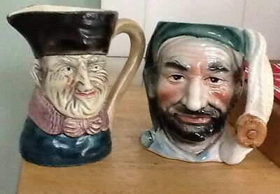 two vintage yoby jugs