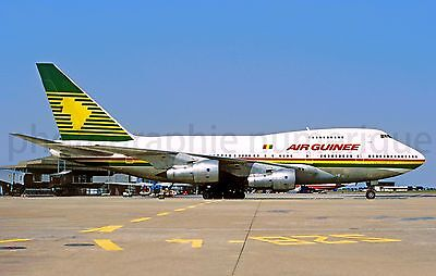 aviation,aircraft, photo numerique, AIR GUINEE- 747SP CDG, top FAKE !