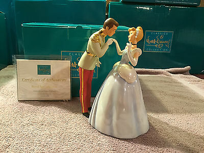 """WDCC Cinderella & Prince Charming """"Royal Introduction"""" New in Box"""