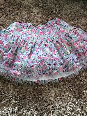 Joules Girls Tutu Tulle Skirt Age 3-4