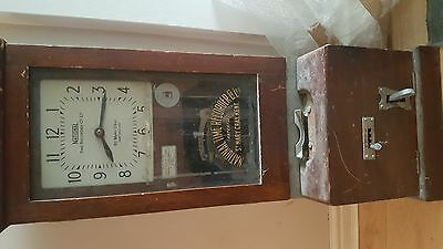 Vintage Clocking In Machine