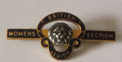 Enamel Badge  -  British Legion Womens Section