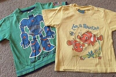 kids t-shirts aged 1-2 Finding Nemo/ Robot