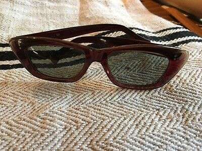 Genuinely Vintage Cats Eye Made In The UK Circa 1950s Sunglasses