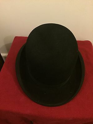Antique Lincoln And Bennett Bowler Hat