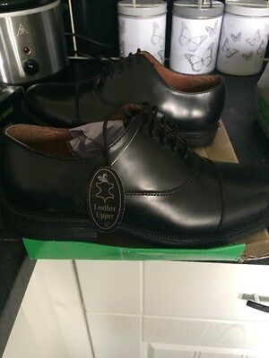 Men's Capped Oxford Shoes New Size 9