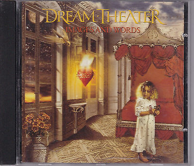 Dream Theater Images And Words Cd From 1992 John Petrucci Mike Portnoy