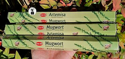 ATTRACTS MONEY INCENSE STICKS~Hem Hexagonal Pack of 20 Sticks Wicca Pagan Reiki