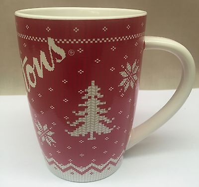 Tim Hortons Christmas Sweater Mug 2015 Limited Edition Coffee Cup  # 015 NoBox